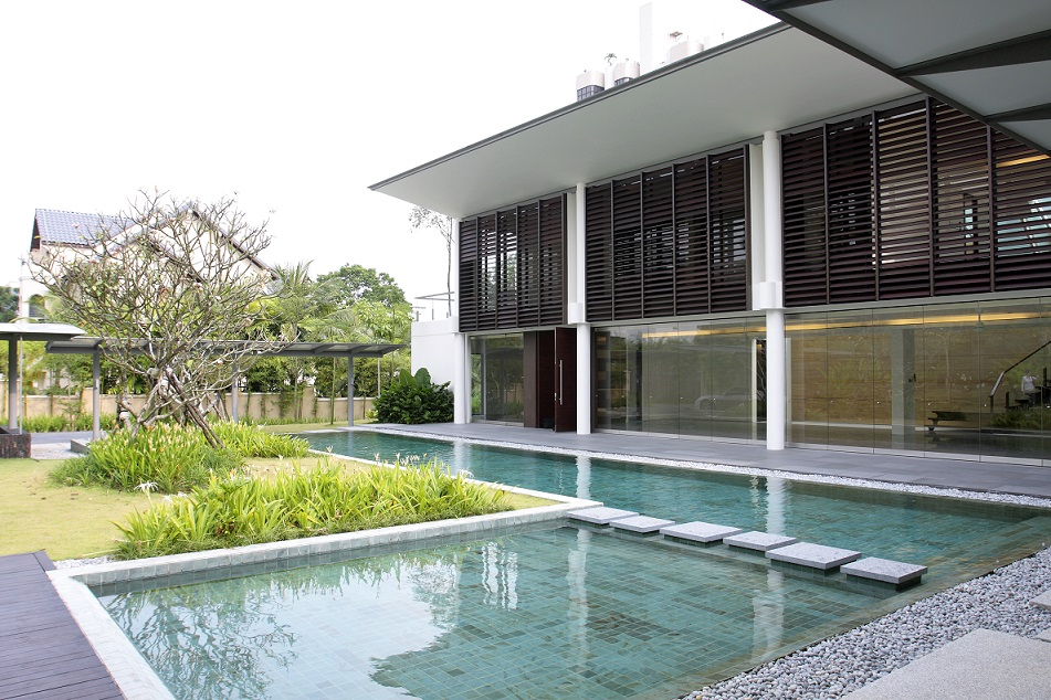 Exterior shot of Belmont Road Good Class Bungalow put up for auction six times - EDGEPROP SINGAPORE