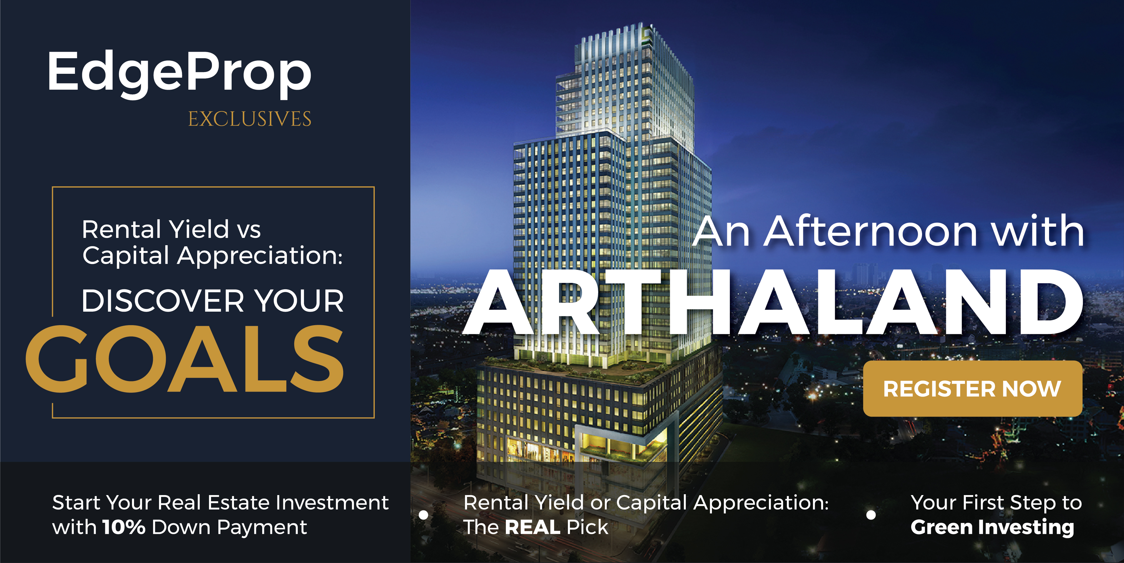 EVENT - EdgeProp Exclusives : An Afternoon with Arthaland