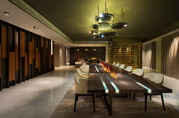 Reflections at Keppel Bay -  The dining room on the 39th floor (List Sotheby)