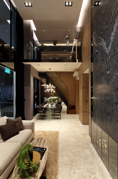 35 GILSTEAD - Selected three-bedroom units feature a 5.7m ceiling height and can accommodate a loft - EDGEPROP SINGAPORE