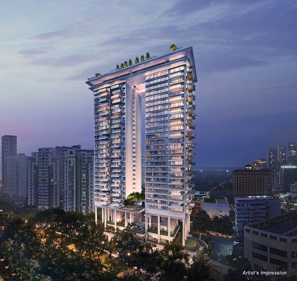 Boulevard 88 on Orchard Boulevard is designed by renowned architect Moshe Safdie (Picture: CDL) - EDGEPROP SINGAPORE