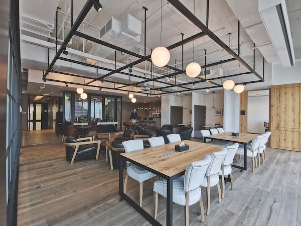 co-working area at The Executive Centre - EDGEPROP SINGAPORE
