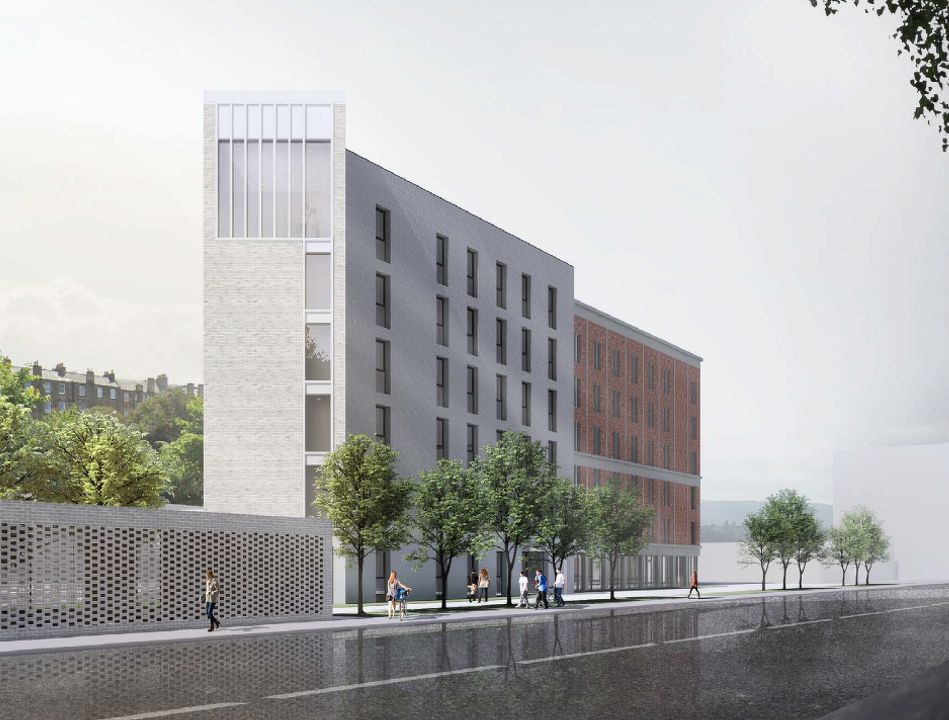 artist's impression of the new PBSA that QIP and HG Developments are building in Edinburgh - EDGEPROP SINGAPORE