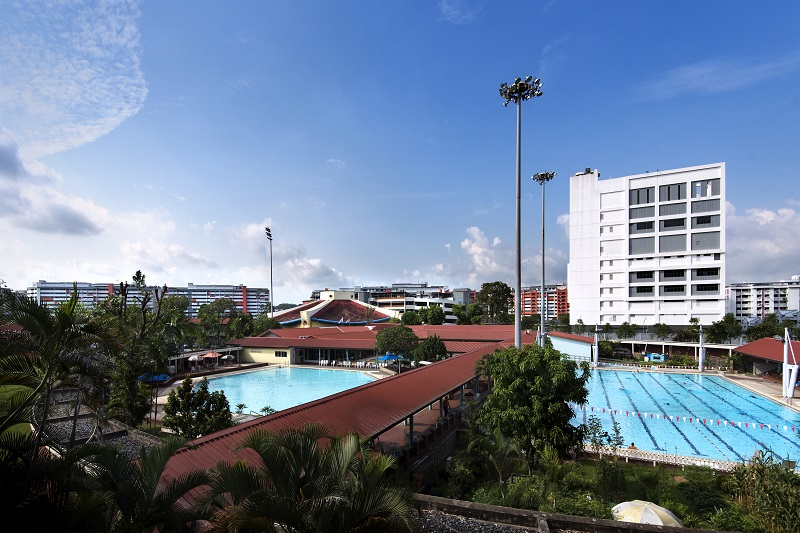 WOODLANDS - The eight-hectare Woodlands Sports Complex features a swimming pool and an indoor sports hall - EDGEPROP SINGAPORE
