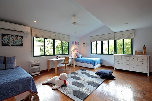 Providing space for his children was a reason why the property appealed to the owner.