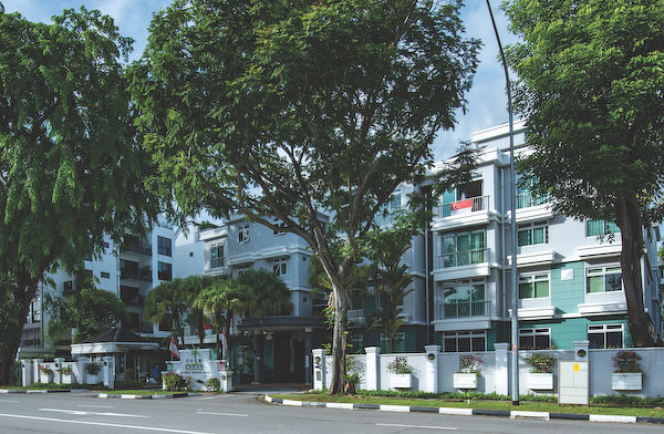 EDGEPROP SINGAPORE -  Palm Green is a freehold condominium along Pasir Panjang Road. (Picture: Albert Chua/The Edge Singapore)