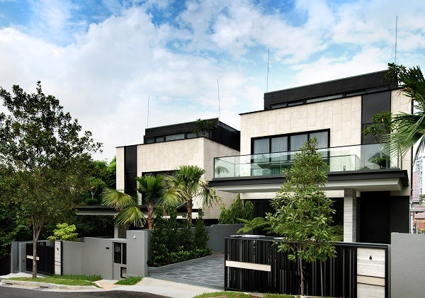 The developer is also putting up two houses at 6 and 6A Holland Grove Lane for sale. (Picture: Centra Group)