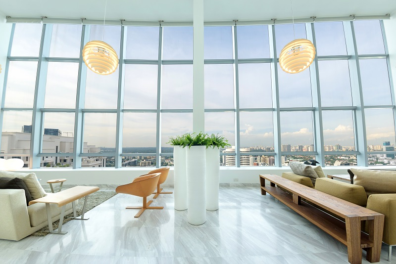 THE ARC AT DRAYCOTT - The amalgamated 8,299 sq ft penthouse at The Arc at Draycott has unblocked views towards MacRitchie Reservoir