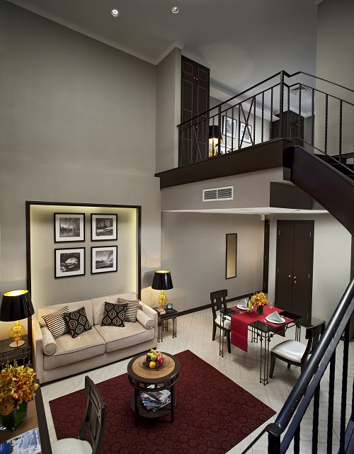 FAR EAST HOSPITALITY - A one-bedroom loft unit at Orchard Parksuites.