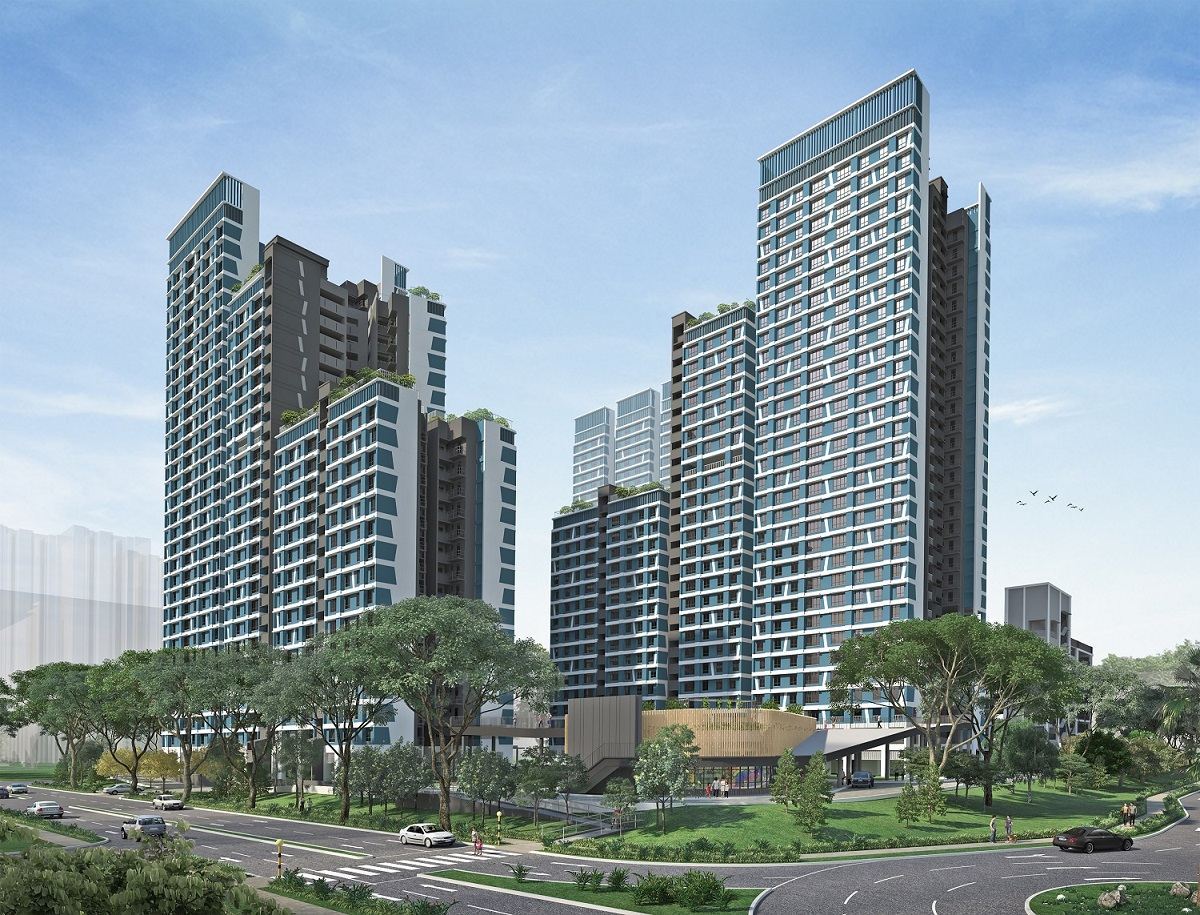 Bounded by Toa Payoh East and Kim Keat Avenue, Kim Keat Ripples comprises three residential blocks, with heights ranging from 16 to 31 storeys. (Picture: HDB)