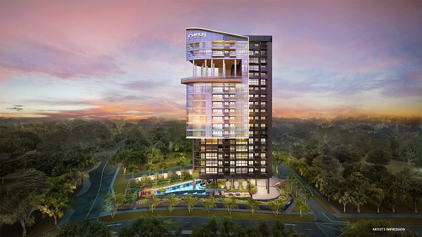 NEU at Novena is an 87-unit residential development (Pictures: Roxy-Pacific)