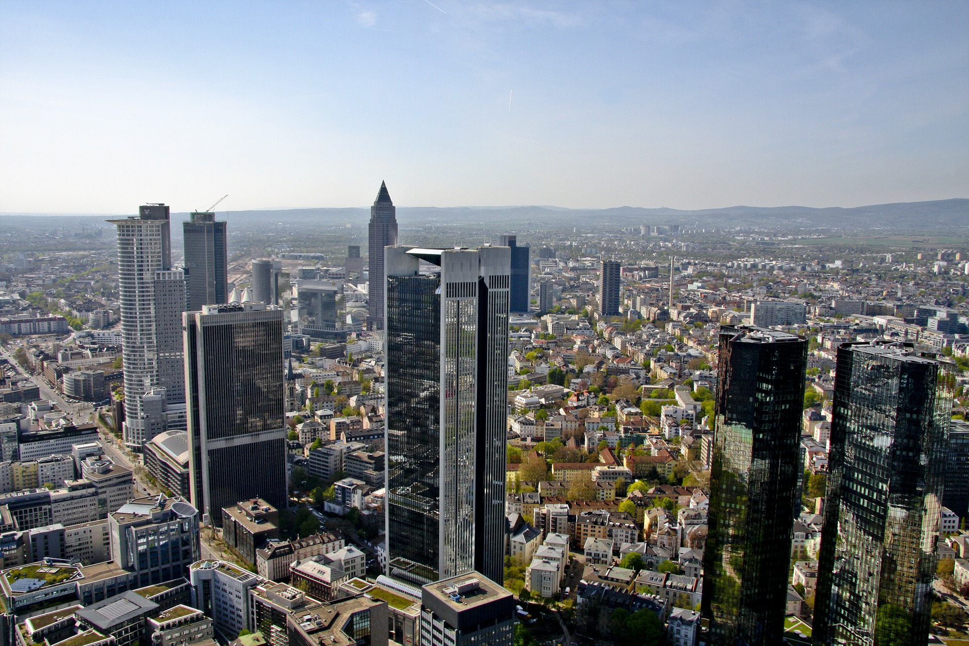 Data centre demand in Frankfurt is supported by its strong connectivity, favourable business climate, and position as a major financial hub (Picture: Pixabay)