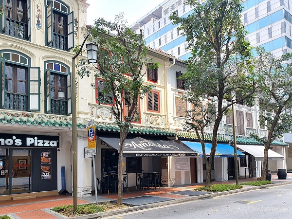 14 Stanley Street, a 2½-storey shophouse has a guide price of $12 million