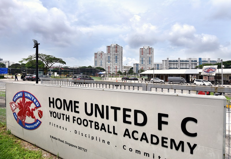 MACPHERSON - The football academy at 8 Mattar Road features 10 futsal courts and two full-sized pitches