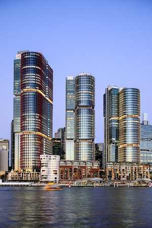 An artist impression of Barangaroo South in Sydney. The masterplan project is jointly developed by Lendlease and the New South Wales state government. (Picture: Lendlease) - EDGEPROP SINGAPORE