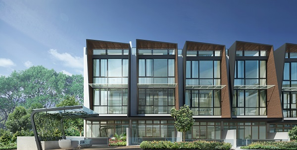 The project comprises semi-detached houses, as well as intermediate terraces and corner terraces.