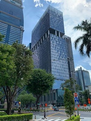 Most of the low- and mid-zone office spaces at 79 Robinson Road have been pre-committed. (Picture: CapitaLand) - EDGEPROP SINGAPORE