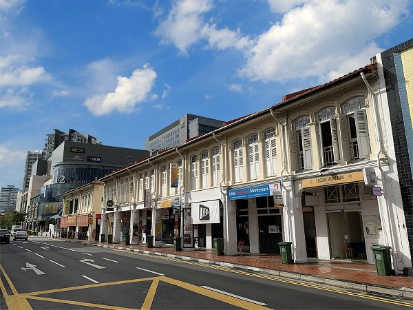 The shophouse at 452 Joo Chiat Road will be sold with full tenancy. (Credit: CBRE) - EDGEPROP SINGAPORE