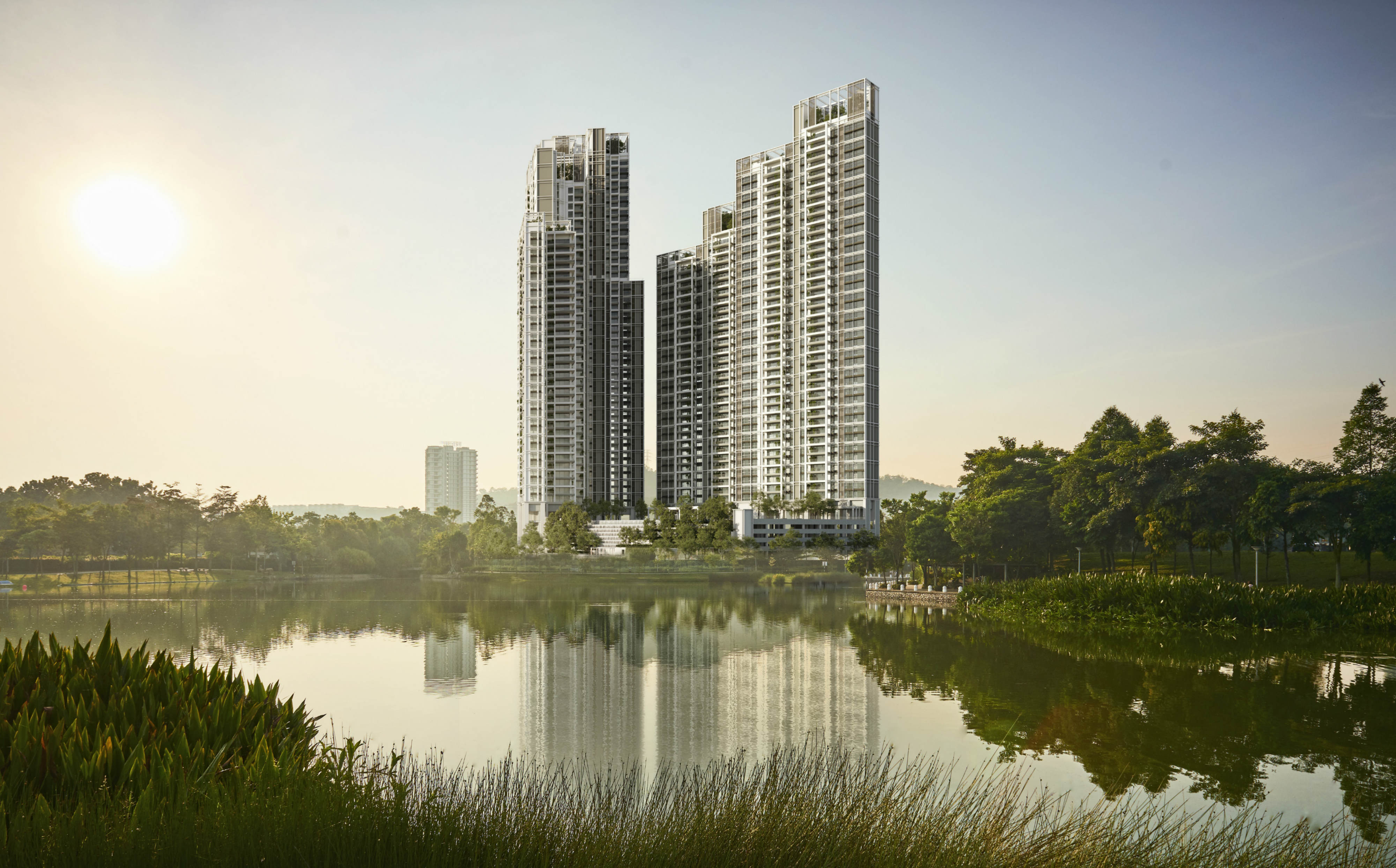 CAPITALAND PARK REGENT - Artist's impressions of Park Regent, a 505-unit freehold residential development located in Malaysia's highly regarded Desa ParkCity township