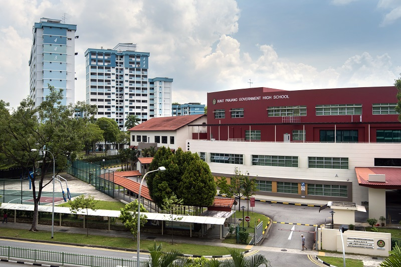 CHOA CHU KANG - Bukit Panjang Government High School is a co-educational secondary school in Choa Chu Kang - EDGEPROP SINGAPORE