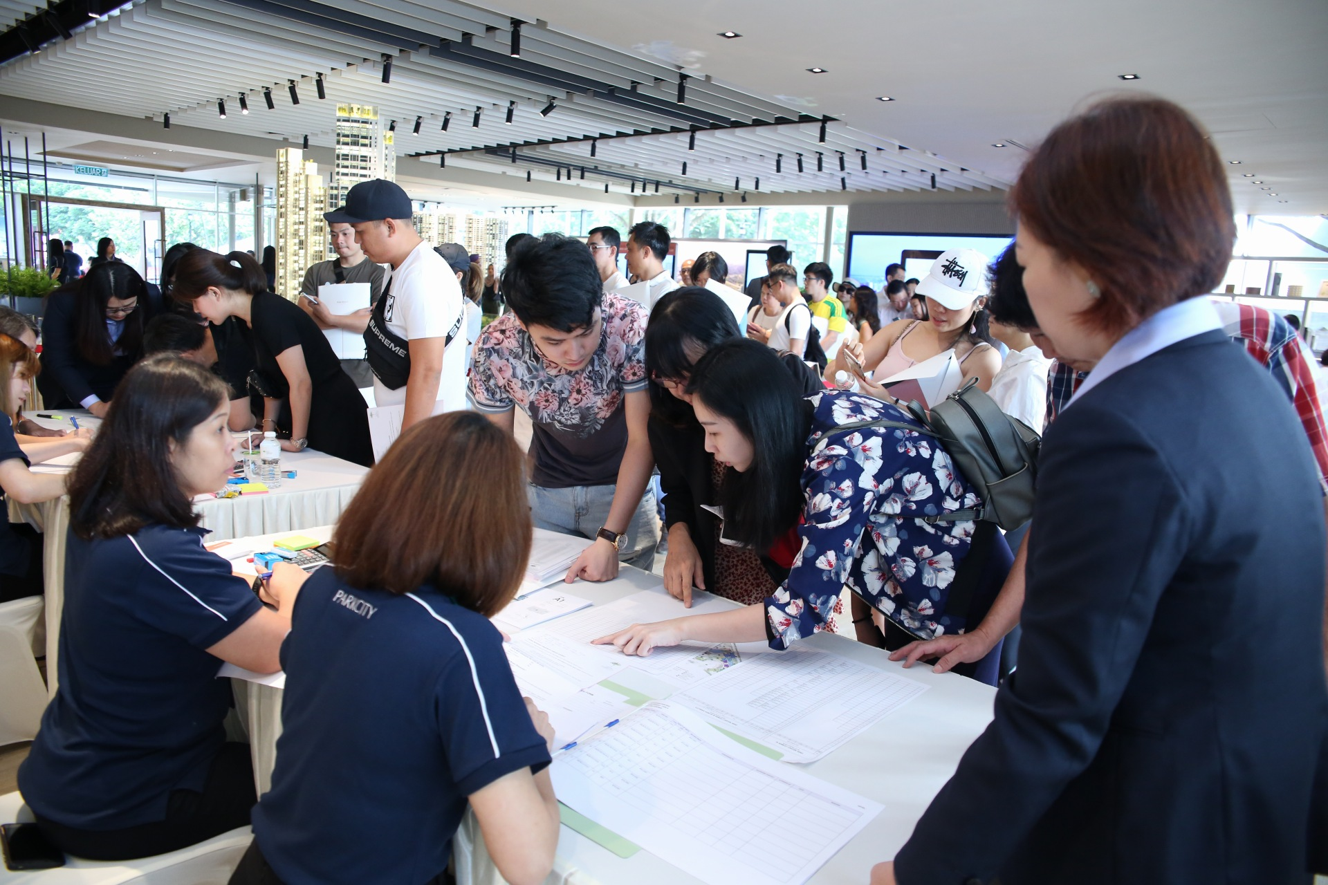 CAPITALAND PARK REGENT - As at 6pm on Sunday 28 July, more than 70% of the development's total 505 units were sold at an average selling price of RM1,100 per square foot