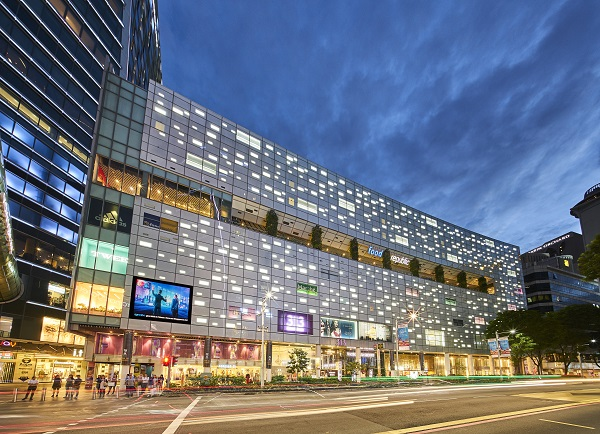 313@Somerset is LREIT's retail property in Singapore. (Picture: Lendlease Global Commercial Trust Management)