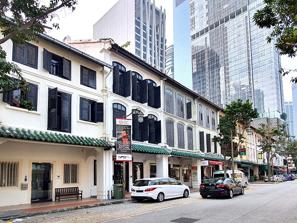151 Telok Ayer Street going for $12 million, or $3,752 psf based on its built-up area (All pictures: Knight Frank Singapore)
