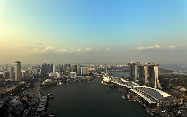 THE SAIL @ MARINA BAY - Sweeping view of Marina Bay from a penthouse at The Sail @ Marina Bay (Pictures by Samuel Isaac Chua/EdgeProp Singapore) - EDGEPROP SINGAPORE