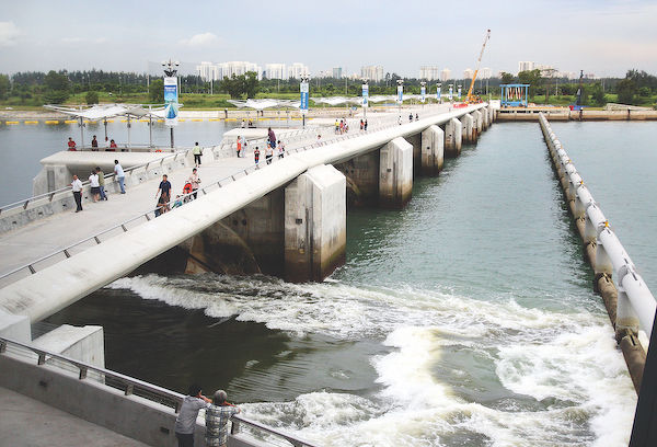 Singapore's Marina Barrage - EDGEPROP SINGAPORE