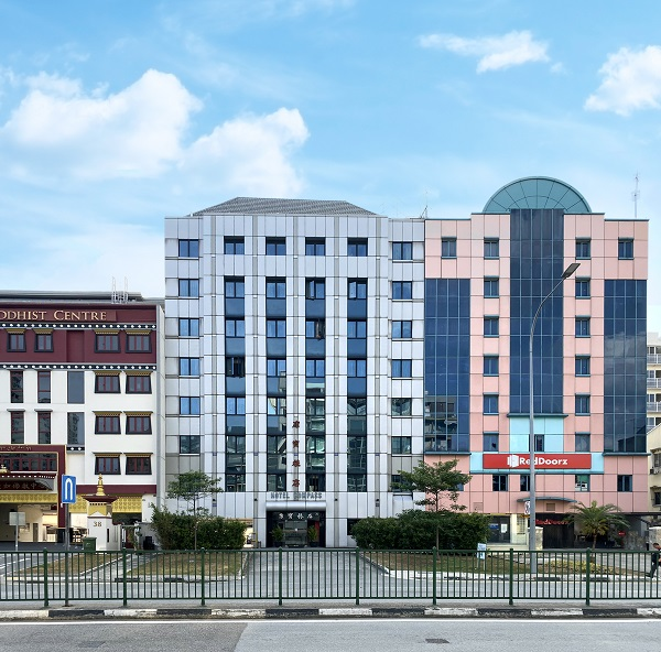 Hotel Compass is a 49-room hotel on Lorong 22 Geylang (Picture: Knight Frank Singapore) - EDGEPROP SINGAPORE