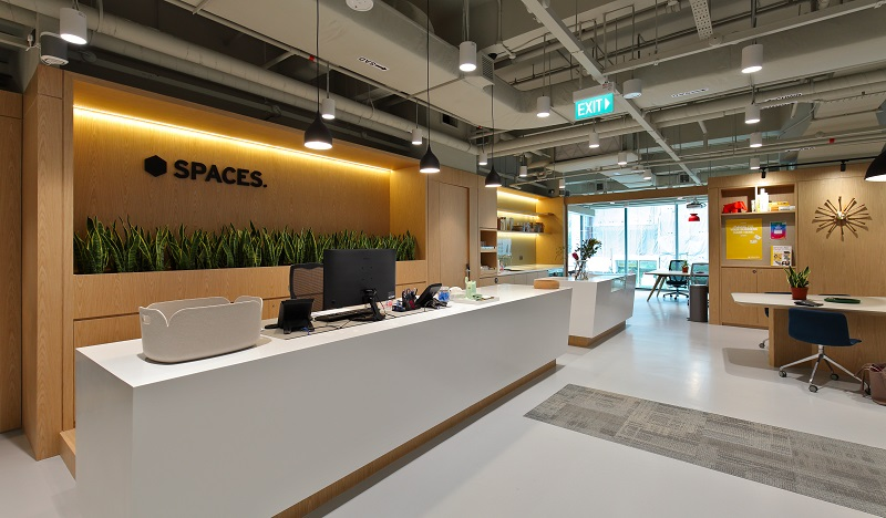 IWG - Spaces has opened a new co-working location at One Raffles Place