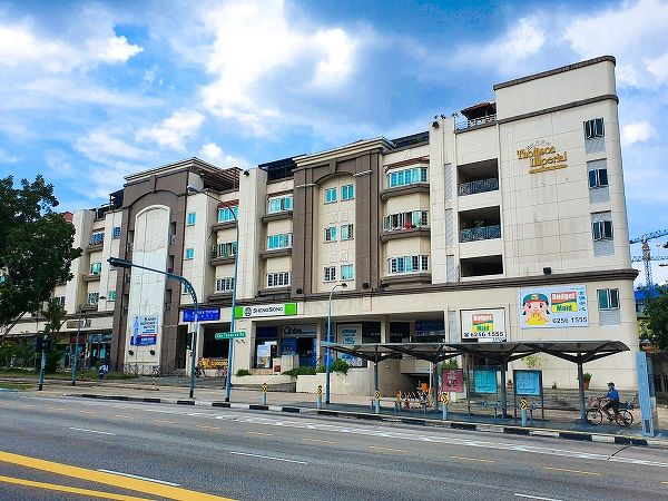 The unit is leased to Sheng Siong Supermarket and represents 23% of the share value stake in the freehold development. (Picture: SRI)