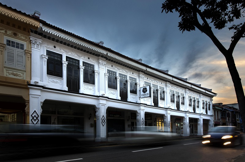 WORLDWIDE HOTELS - Venue Hotel is a line of budget hotels located within shophouses in heritage areas such as Joo Chiat