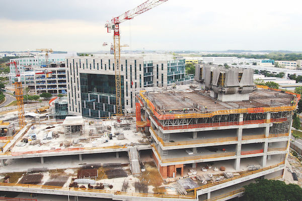 EDGEPROP SINGAPORE -  As a result of the Covid-19 pandemic, factors such as higher labour and material costs will likely translate into higher overall construction costs, and some construction projects in Singapore may end up costing more and taking longer to complete. (Picture: The Edge Singapore)