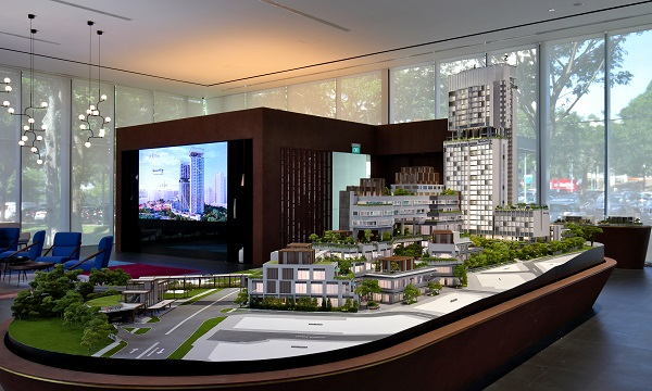 One Holland Village Residences sold 98 out of 296 residential units when it launched, and attracted a crowd of close to 1,500 people at its weekend launch. (Picture: Samuel Isaac Chua/The Edge Singapore)