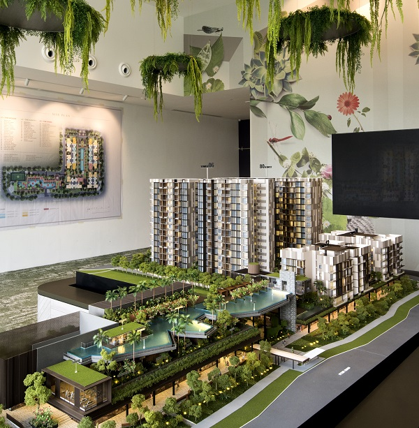 When it launched on the weekend of Nov 23 and 24, the 460-unit Dairy Farm Residences old 35 out of 80 units. (Picture: Albert Chua/The Edge Singapore)