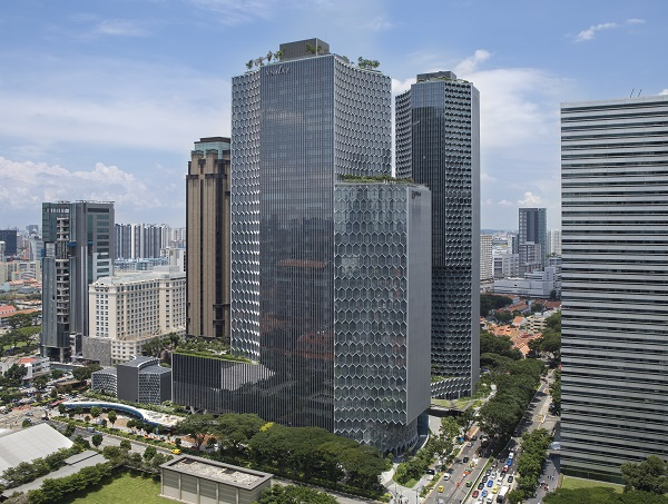Andaz Singapore is a 342-room hotel at the mixed-use Duo development (Picture: M+S)