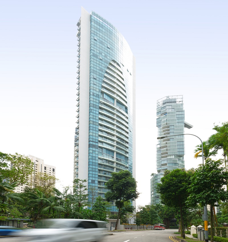 """THE ARC AT DRAYCOTT - The Arc at Draycott is located near the American Club and Tanglin Club, and the Draycott Drive-Ardmore Park enclave is renowned as the """"billionaires' belt"""""""