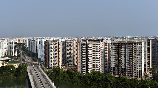 The view towards the Anchorvale neighbourhood in Sengkang  - EDGEPROP SINGAPORE