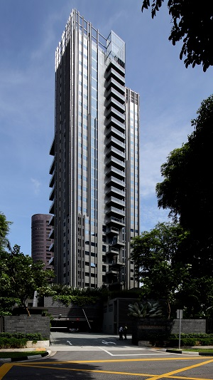 The 77-unit, 3 Orchard By-The-Park is a luxury condominium development, designed by renowned Italian architect Antonio Citterio (Picture: Samuel Issac Chua/EdgeProp Singapore)