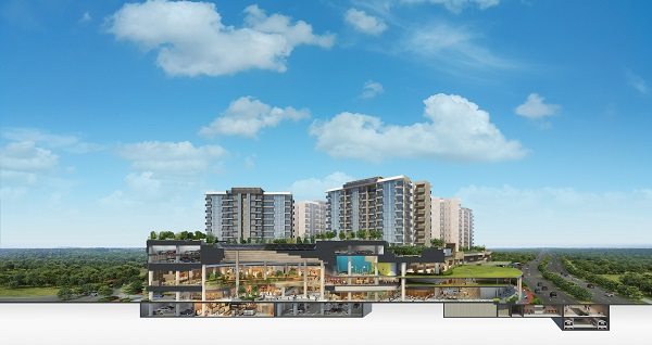 Sengkang Grand Residences will be the first integrated community and lifestyle hub in the North-East region (Picture: CapitaLand/CDL)