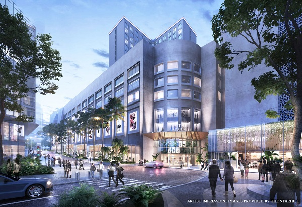 The renovations will include a revamped look for the Jalan Gading enterance (Pictures: YTL Land & Development)