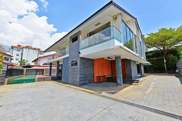There has also been more buying interest in mortgagee sales of landed homes, such as this bungalow on Tamarind Drive by SRI. (Picture: SRI) - EDGEPROP SINGAPORE