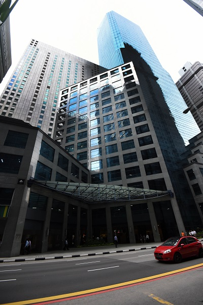 Singapore property outlook 2019 - Hong Kong-based private equity firm acquired 77 Robinson Road for $710 million this year (Picture: The Edge Singapore)