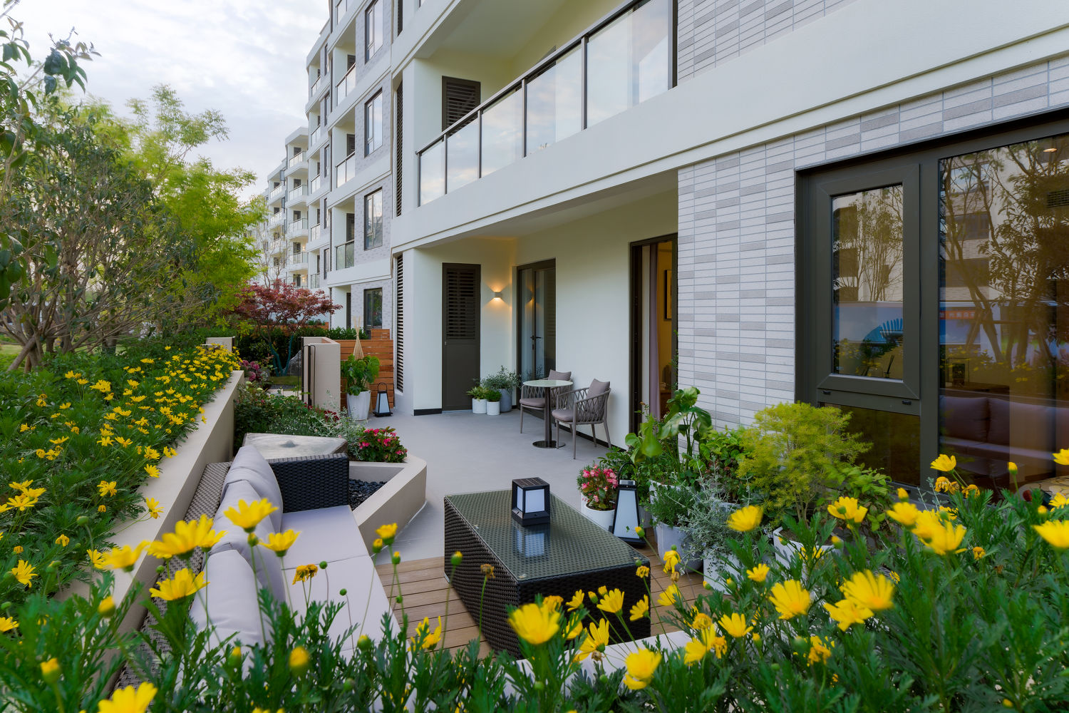 Garden at one of the apartments - EDGEPROP SINGAPORE