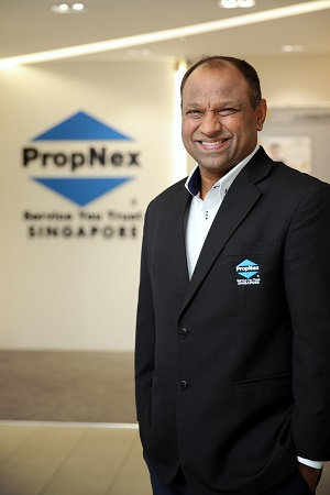 PropNex's Gafoor: We emphasise the importance of trust and integrity in our business and course of work. PropNex management will not hesitate to take disciplinary action against any of our salespersons for any failure [in these aspects]. (Picture: Samuel Isaac Chua/The Edge Singapore)