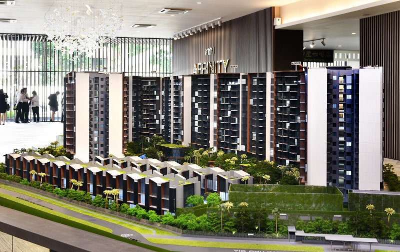 AFFINITY AT SERANGOON - The 1,052-unit Affinity offers one- to four-bedroom units, penthouses, and two-storey strata townhouses - EDGEPROP SINGAPORE