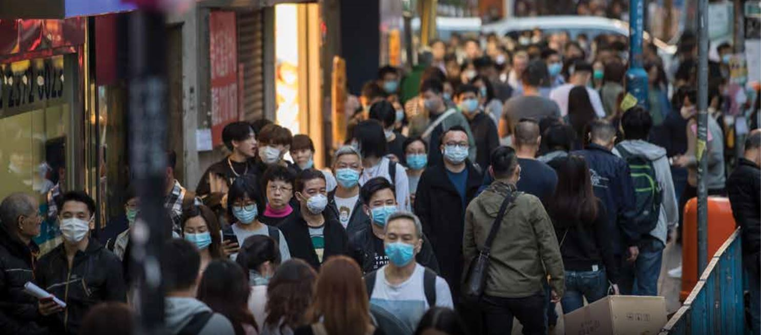 The outbreak is likely to hamper any economic recovery in Hong Kong, which entered a technical recession in 3Q2019 on the back of widespread socio-political unrest. (Picture: Bloomberg) - EDGEPROP SINGAPORE