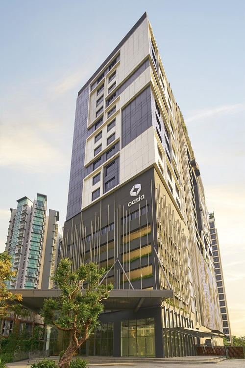 FAR EAST HOSPITALITY - Oasia Residence, Singapore is a serviced residence in Singapore's West Coast area
