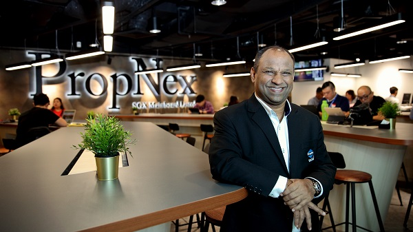 Ismail Gafoor, CEO of mainboard-listed PropNex Realty. The agency has worked to reach more consumers to support the sales of newly launched projects, as well as provide business for their agents. (Picture: Samuel Issac Chua/EdgeProp Singapore)